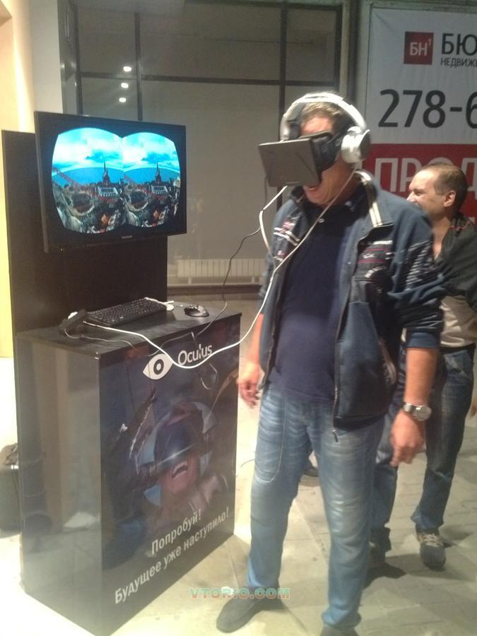 Аттракцион виртуальной реальности своими руками 33