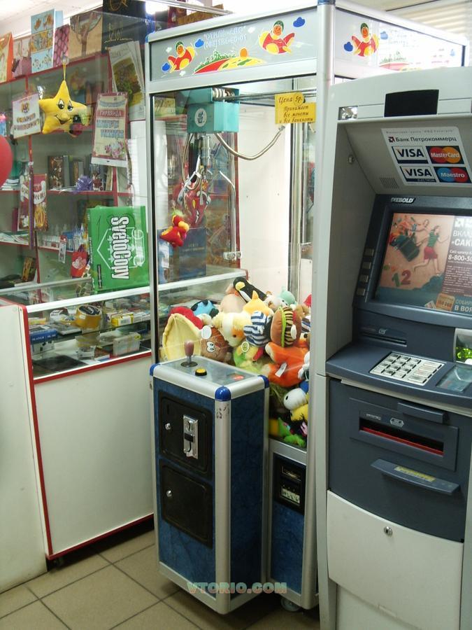 Как выиграть у автомата от игрушками где